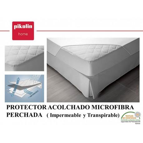 Protector colchón acolchado Microfibra