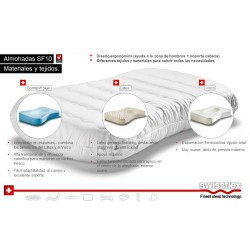 ALMOHADA LATEX SF10 SWISSFLEX