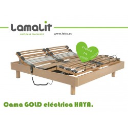 CAMA GOLD ARTICULADA LAMALIT