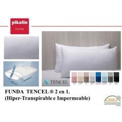 Funda almohada 2 en 1 Tencel® Impermeable Hiper transpirable