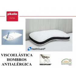 ALMOHADA VISCO HOMBROS ANTIALERGICA