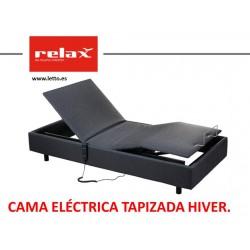 CAMA ELECTRICA TAPIZADA HIVER RELAX