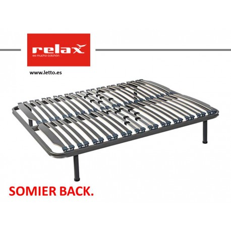 SOMIER LAMINAS BACK RELAX   Letto