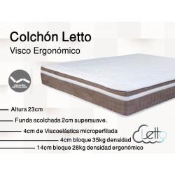 COLCHON VISCOERGONOMICO
