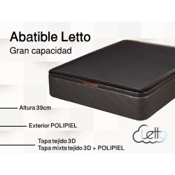 ABATIBLE LETTO