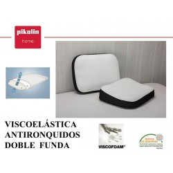 Almohada Visco Anti-Ronquidos
