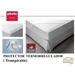 Protector colchón no acolchado Termorregulador