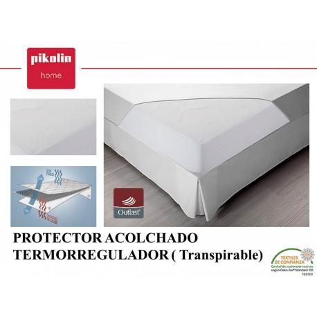 Protector colchón acolchado Termoregulador
