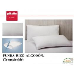 Funda de Almohada Rizo Algodón