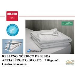 Relleno Nórdico Fibra OSLO Antialérgico Duo 125+250 gr.