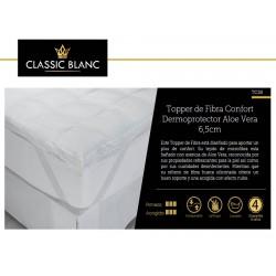 Topper fibra Confort Aloe Vera