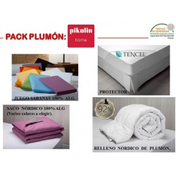 PACK TEXTIL CAMBIO MEDIDA PLUMON