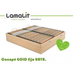 CANAPE ABATIBLE GOLD FIJO LAMALIT