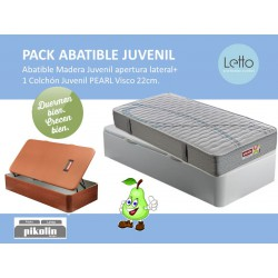 PACK ABATIBLE AP.LATERAL Y COLCHON PEAR PIKOLIN