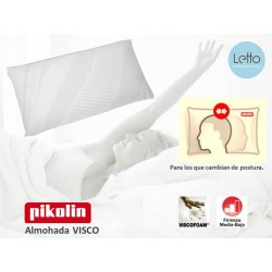ALMOHADA VISCO TRANSPIRABLE PIKOLIN