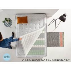 COLCHON NUCOL SAC 2.0 +SPRING TOP  SpringSac 7z®