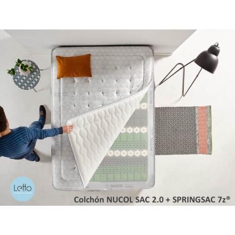 COLCHON NUCOL SAC +  SpringSac 7z®