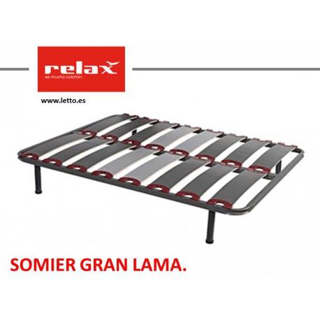 SOMIER LAMINAS GRAN LAMA RELAX