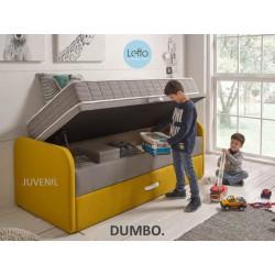 CANAPE ABATIBLE DUMBO + NIDO