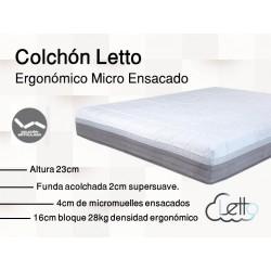 COLCHON ERGONOMICO MICROENSACADO