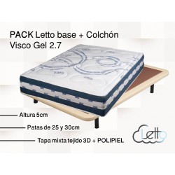PACK BASE POLIPIEL + COCHON VISCO GEL 2.7