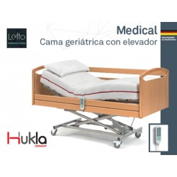 CAMA GERIATRICA MEDICAL HUKLA