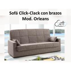 SOFA CAMA CLIK-CLAK ORLEANS SIN BRAZOS