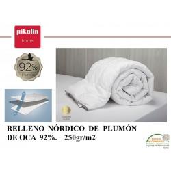 Relleno Nórdico Plumón 92% 250 gr.