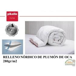 Relleno Nórdico Plumón 96% 280 gr.