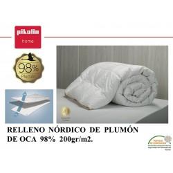 Relleno Nórdico Plumón 98% 200 gr.