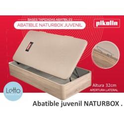 CANAPE ABATIBLE NATURBOX APERTURA LATERAL PIKOLIN