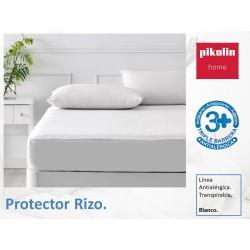 Protector rizo jacquard Antialérgico Transpirable