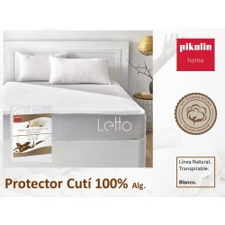 Protector Cutí 100%  algodón Transpirable