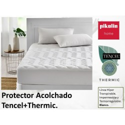 Protector Tencel® + Thermic® Acolchado Impermeable Hiper transpirable