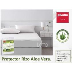 Protector rizo Aloe vera Impermeable Transpirable