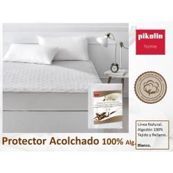 Protector colchón acolchado 100% Algodón