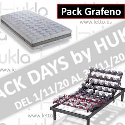 PACK BLACK ART.GRAFENO + C. LATEX NATURA-LUXE HUKLA