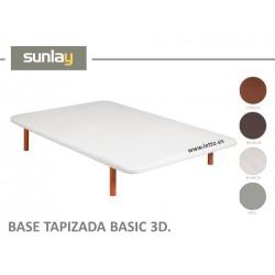 BASE TAPIZADA BASIC 3D SUNLAY