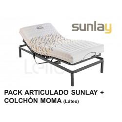 PACK ARTICULADO MOTOR + COLCHÓN MOMA SUNLAY
